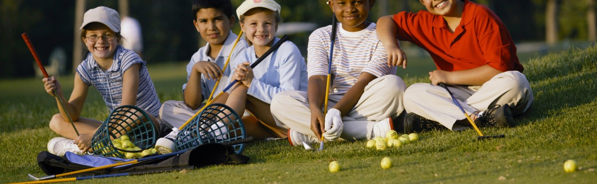 Kids Play Golf for FREE